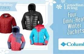WIN 4 Columbia Winter Coats!