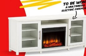 WIN a $ 500 multimedia electric fireplace