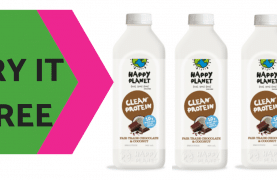 FREE Happy Planet's Dairy Free Smoothie