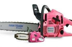 Win a $ 420 Husqvarna 450 Rancher Pink Chainsaw