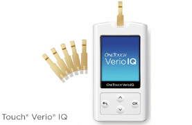 FREE OneTouch Verio IQ Glucose Meter!
