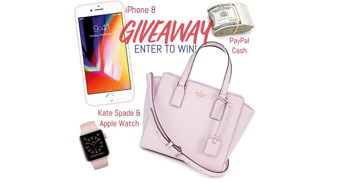 giveaway win iphone apple watch paypal cash