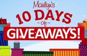 Marilyn's 10 Days of Giveaways