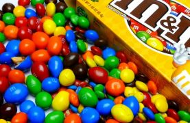 WIN 1 year supply of M&M's