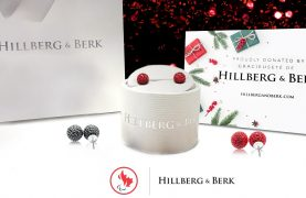 2 sets of Sparkle Ball Stud Earrings from Hillberg & Berk to WIN