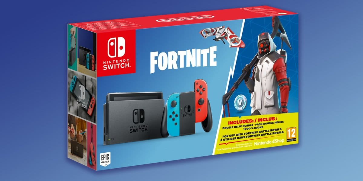 win fortnite nintendo switch bundle