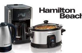 12 Hamilton Beach home appliances to be won