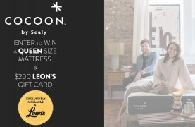 Score a $200 Leon's Gift Card & a Queen Size Mattress