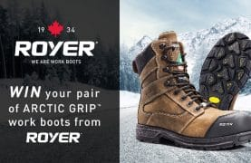 WIN a pair of Royer Work Boots