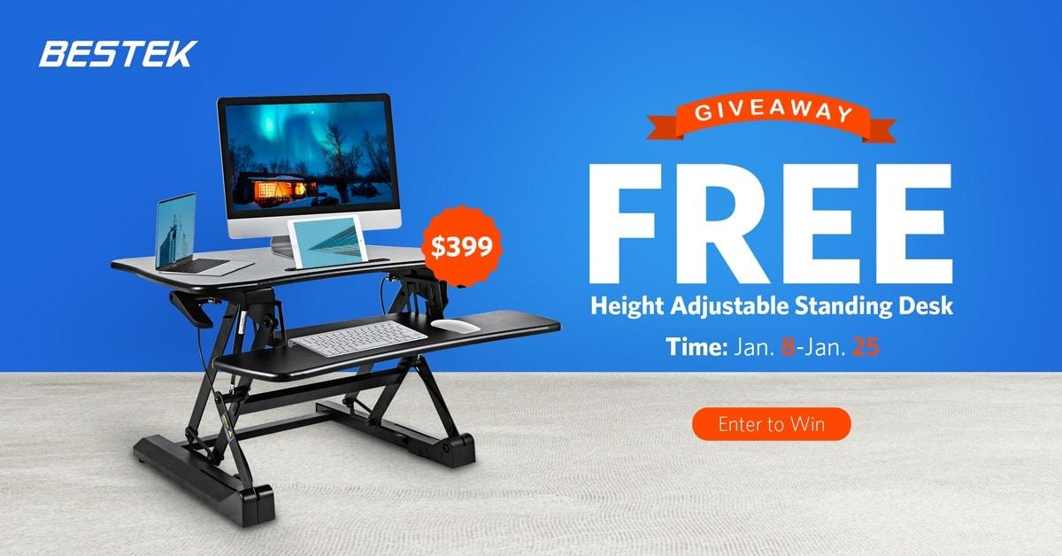 win adjustable standing desk