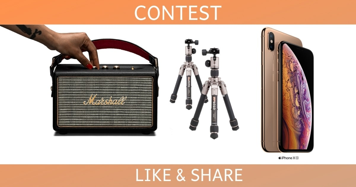 win iphone xs marshall speakers and more 1