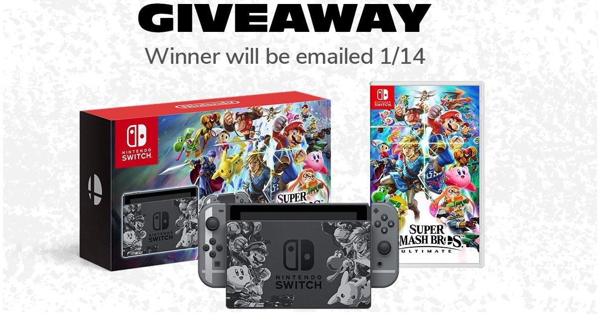 win nintendo switch pack