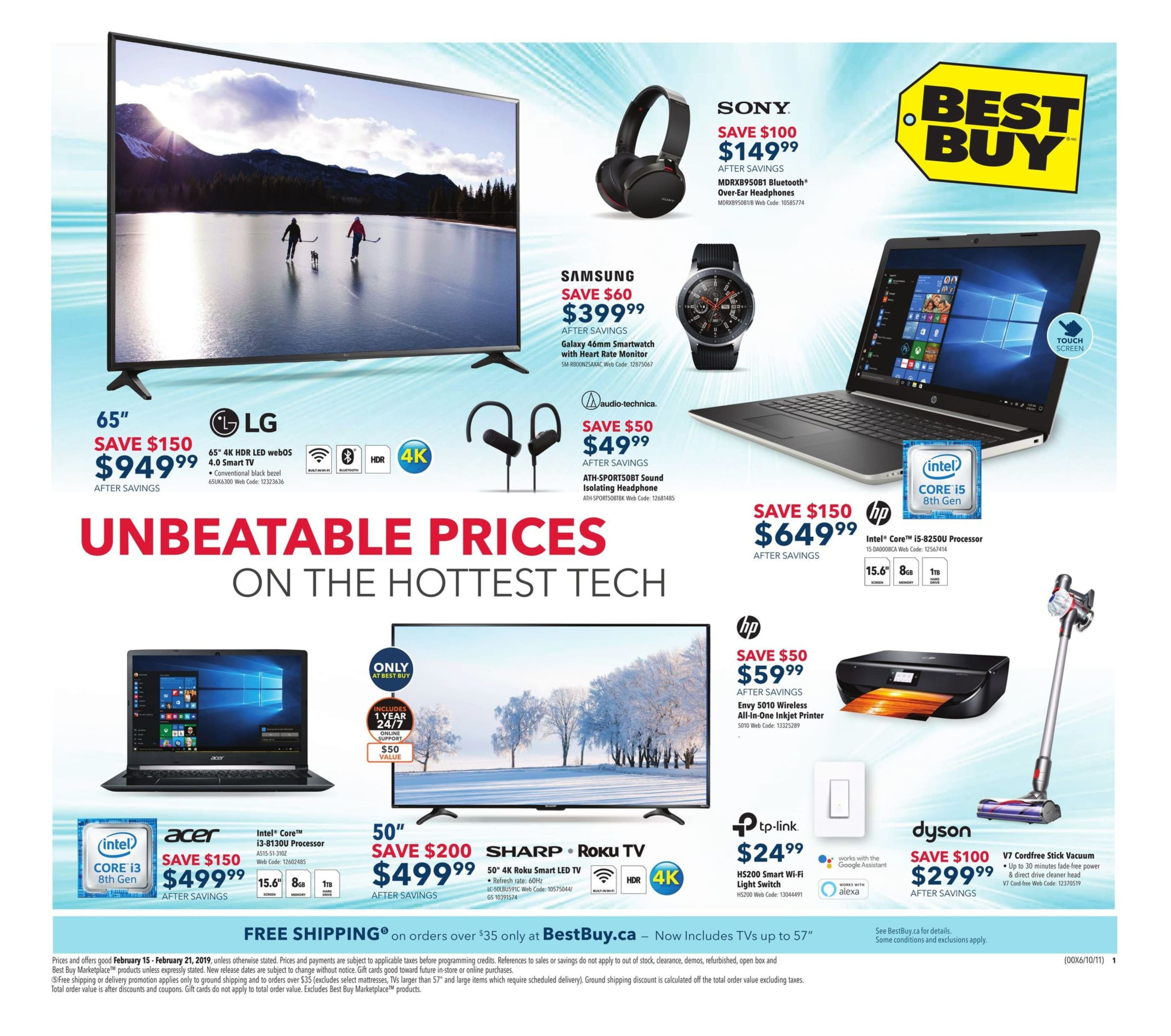 Best Buy Flyer Unbeatable Prices on the Hottest Tech 001