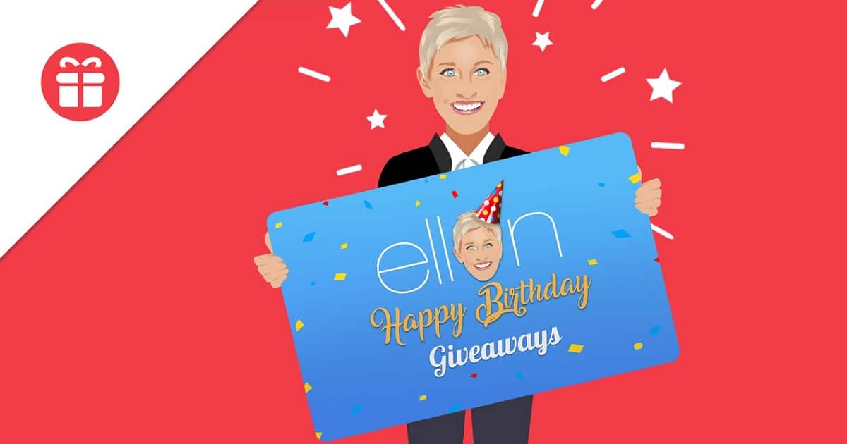 ellentube contest win all birthday giveaway prizes
