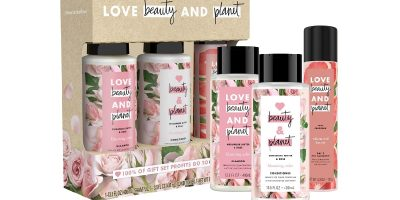 free samples love beauty and planet shampoo conditioner