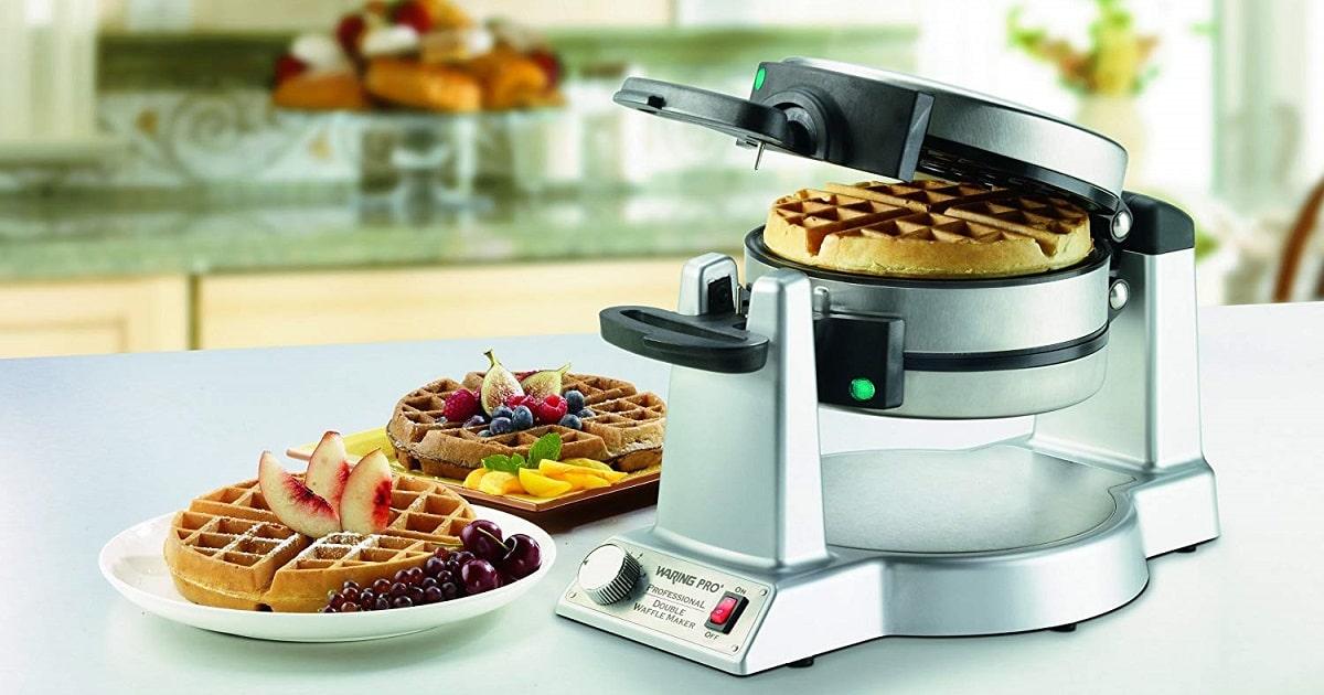 win cuisinart double belgian waffle maker