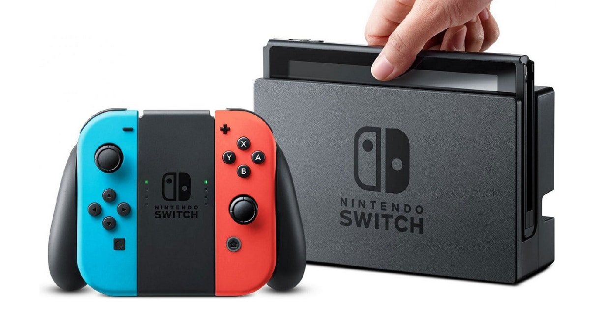 win nintendo switch console