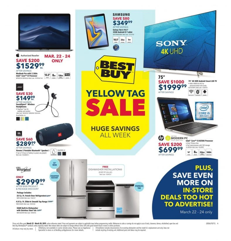 Best Buy Flyer March 22 to 28 2019 001