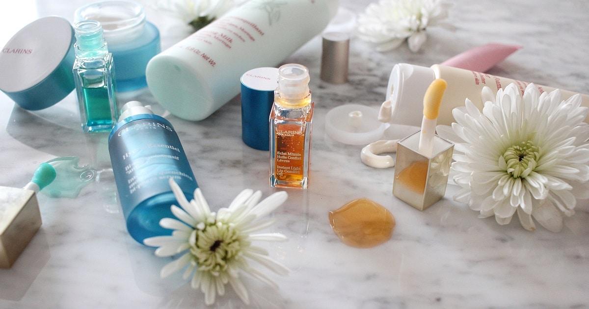 clarins skincare routine