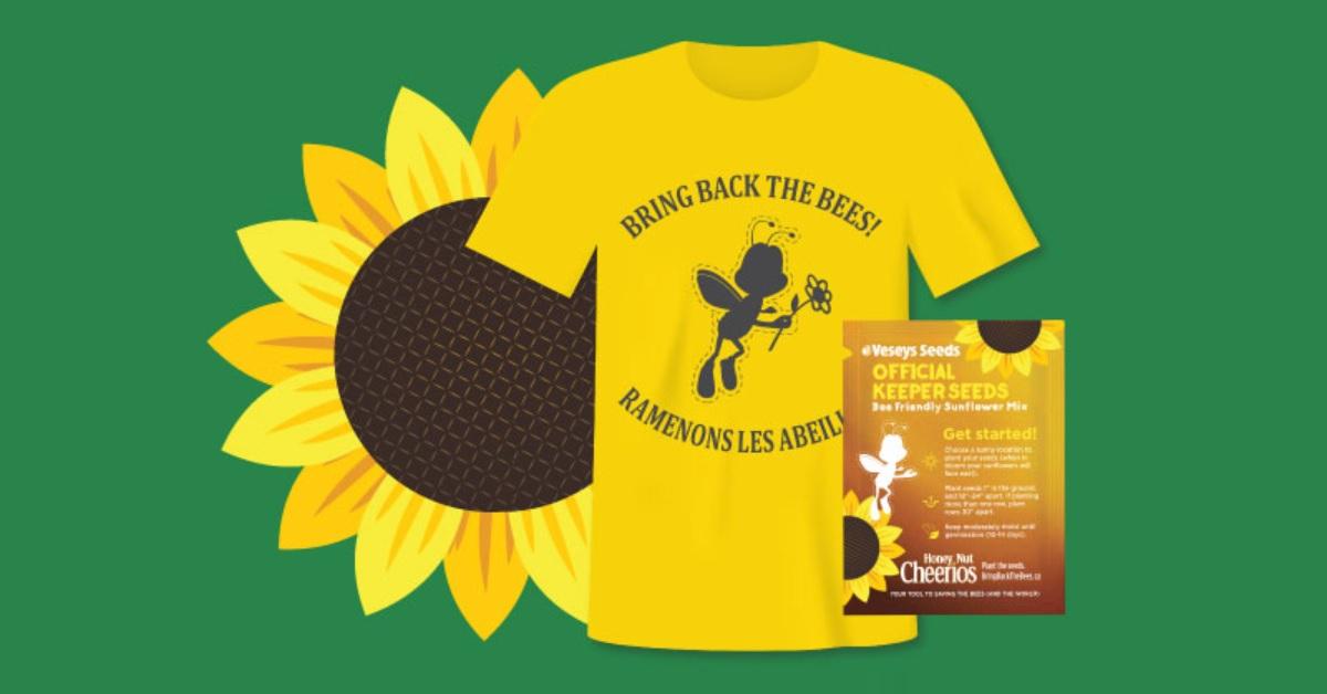 free sunflower seeds tshirt