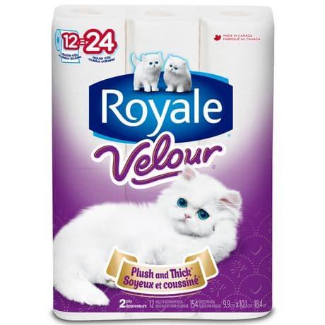 royale bathroon tissue 24