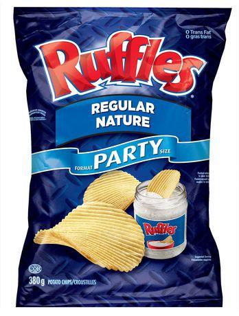 ruffles potato chips regular