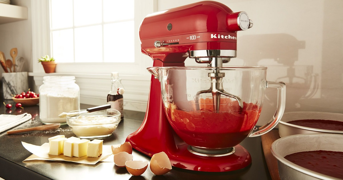 win kitchenaid queen of hearts stand mixer special edition