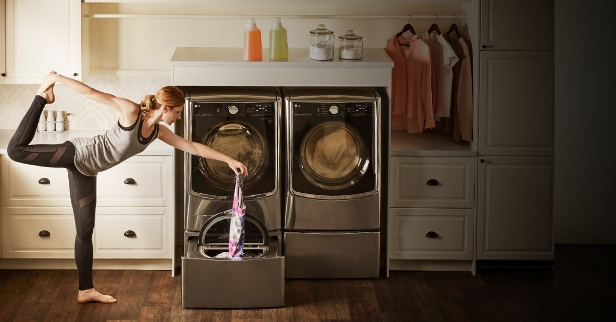 win lg truestream washer dryer combo the home depot contest