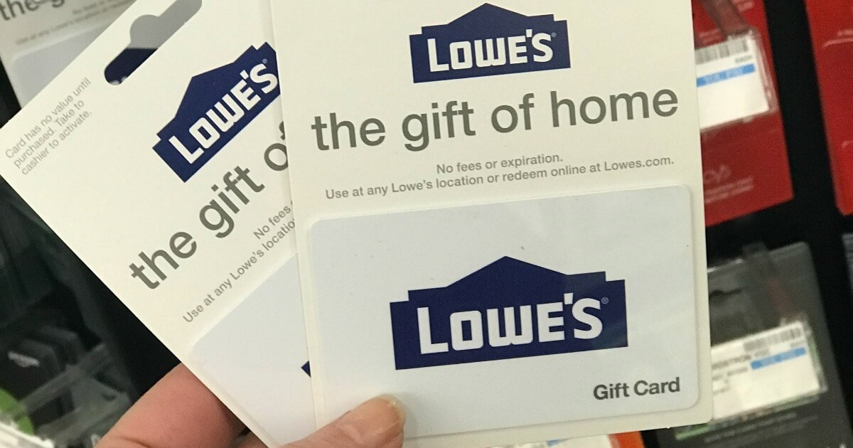 win lowes gift card