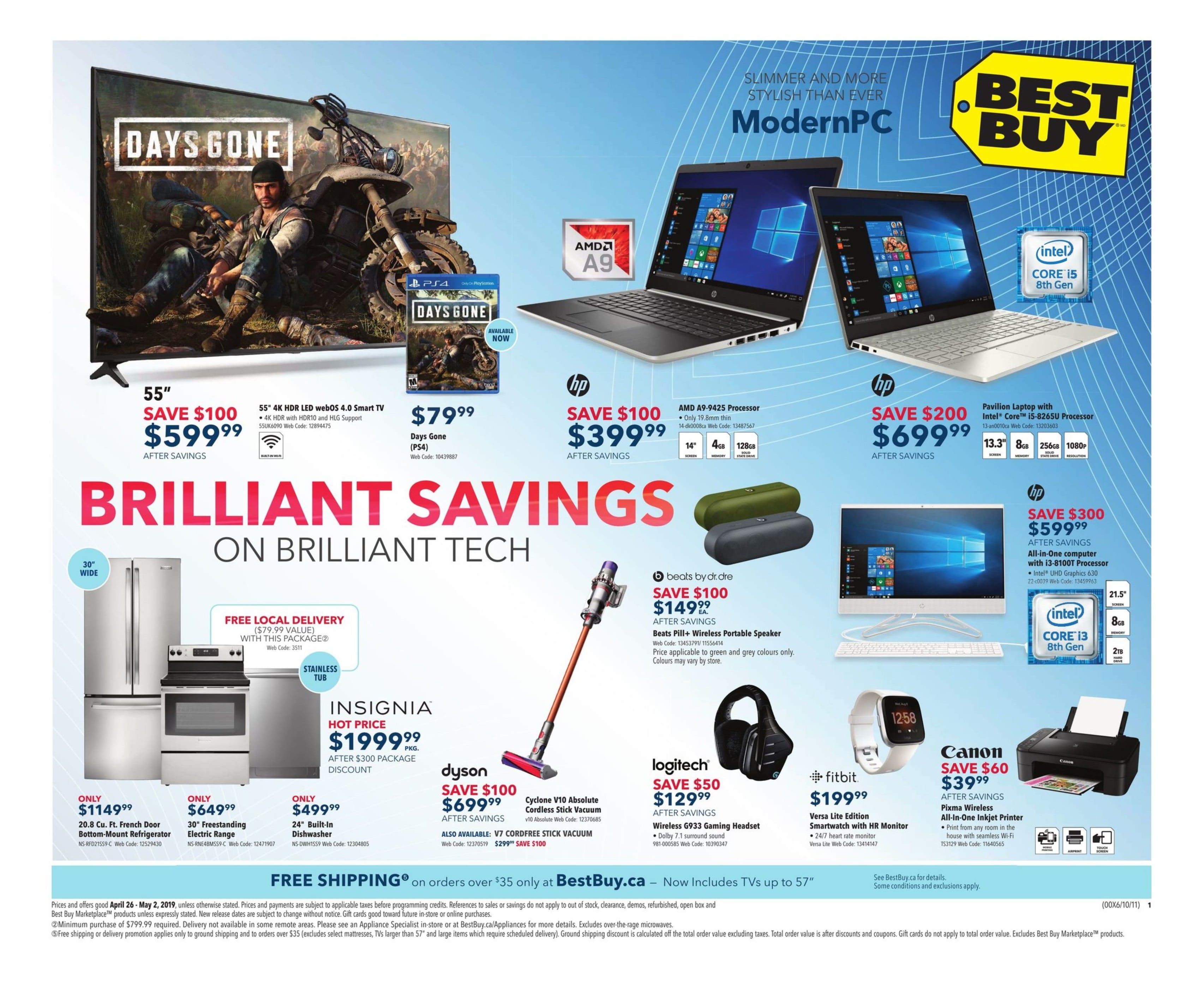 Best Buy Flyer April 26 to May 2 2019 001