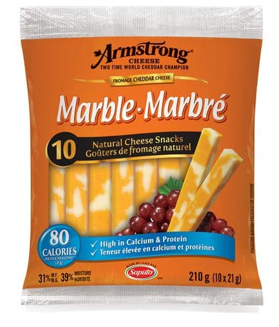 armstrong cheese snacks pkg 10