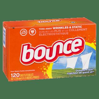 bounce dryer sheets 120ea