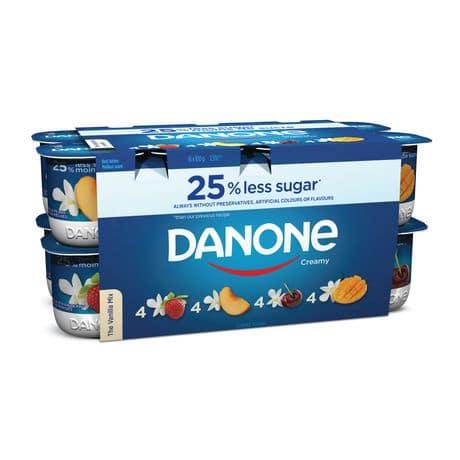 danone creamy pack