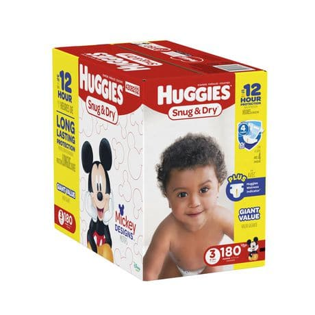 huggies diapers mega colossal pack