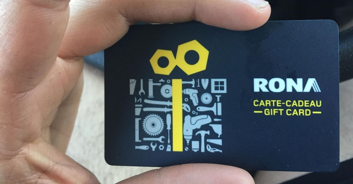 rona gift card