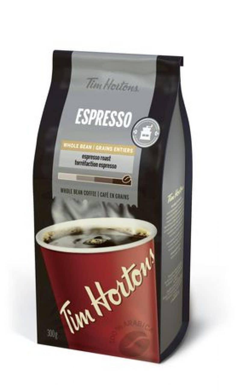 tim hortons espresso coffee