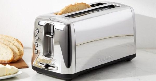 win cuisinart long slot bread toaster