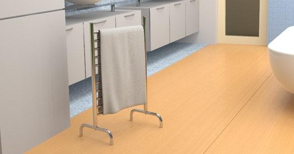 win heated towel rack