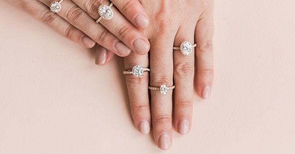win james allen custom made diamond engagement ring