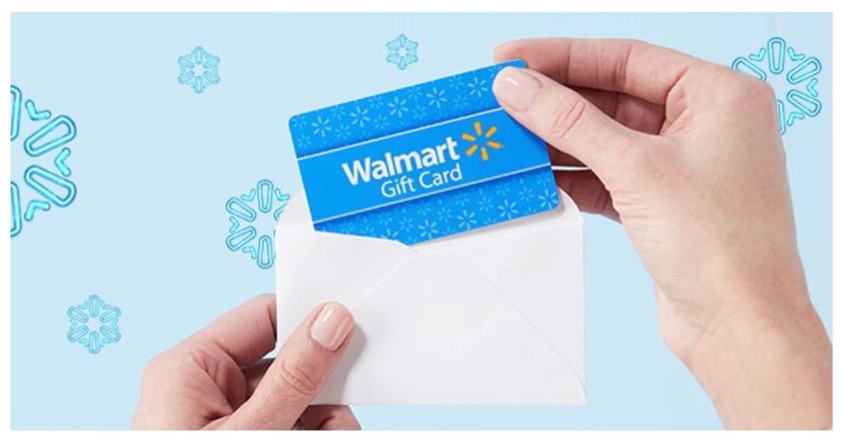 win walmart gift card
