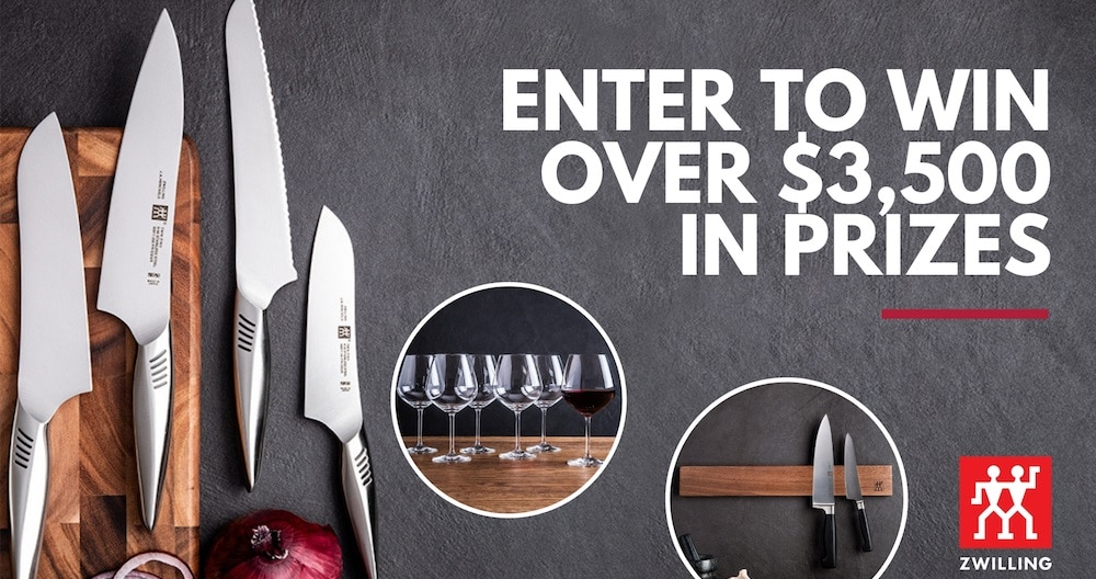 zwilling contest win zwilling kitchen tools pack
