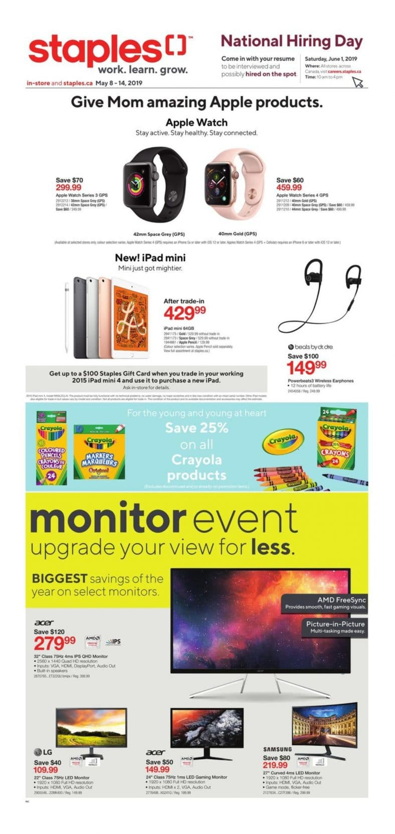 Staples Flyer May 08 to 14 001