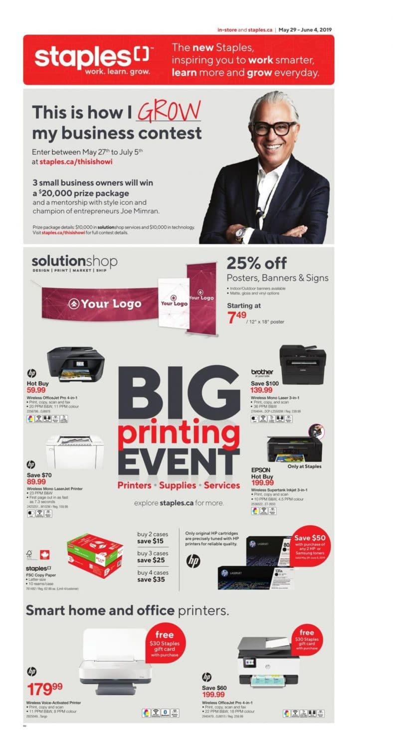 Staples Flyer May 29 to June 04 2019 001
