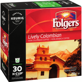 folgers coffee k cups