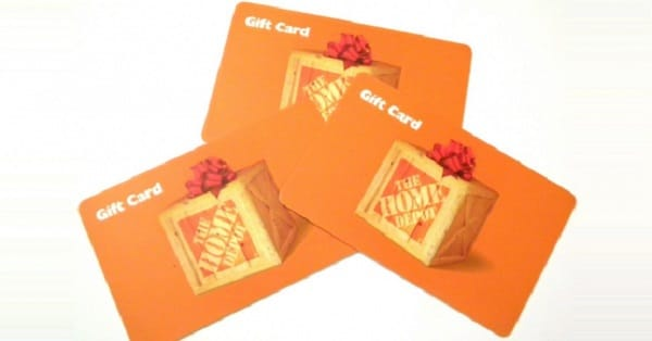 win 3 home depot gift cards