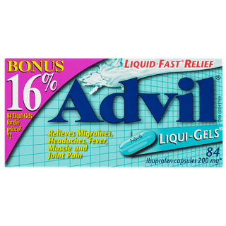 advil liqui gels 200mg 84