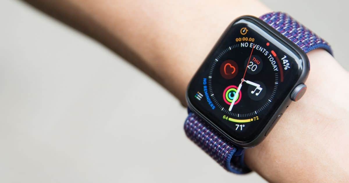 win apple watch series 4