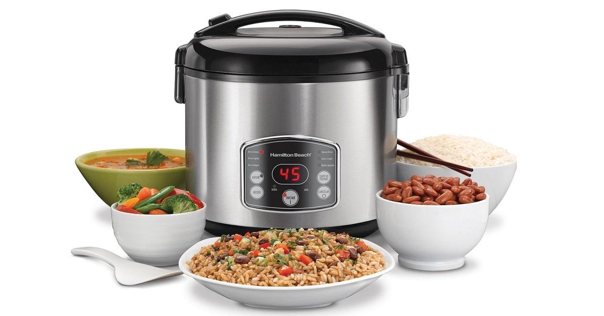 win hamilton beach digital rice cooker