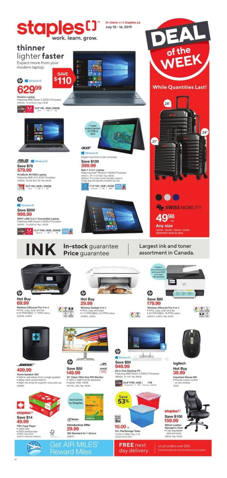 Staples Flyer July 10 to 16 2019 001