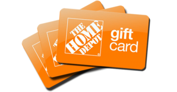 win 200 Home Depot gift card image